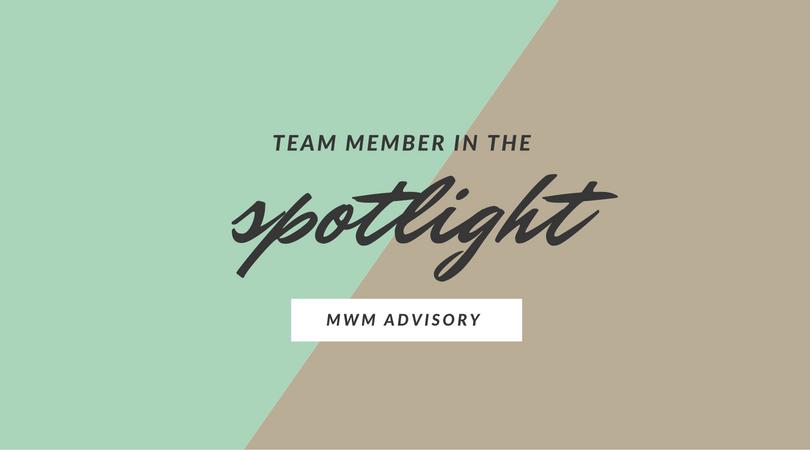 Team member in the spotlight
